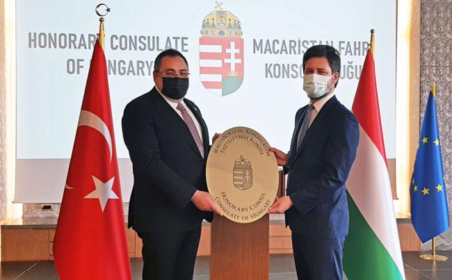 Macaristan yeni Trabzon fahri konsolosu Umut Durbakayım oldu