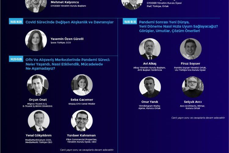 'GYODER Çözüm Platformu'nda pandemide yaşanan değişim konuşulacak