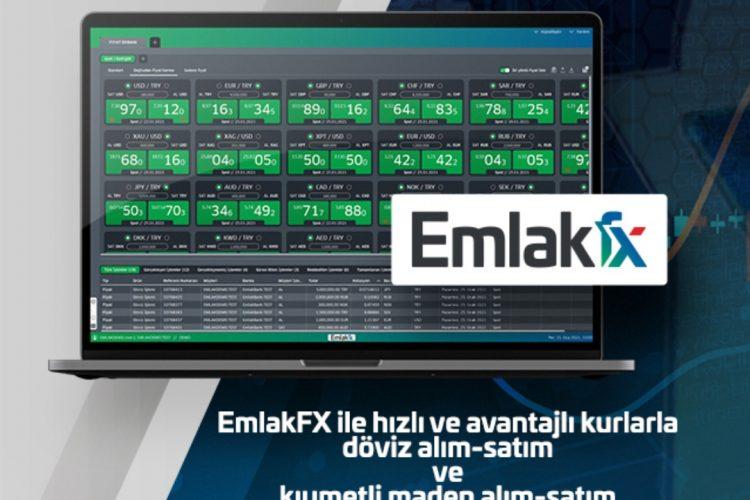 """Emlak Katılım müşterileri """"EmlakFX"""" platformu ile buluşuyor"""