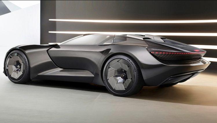 Audi skysphere konsept modelini tanıttı