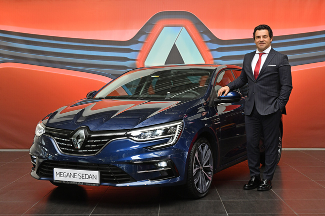 Renault MAİS Genel Müdürü Berk ÇAĞDAŞ: