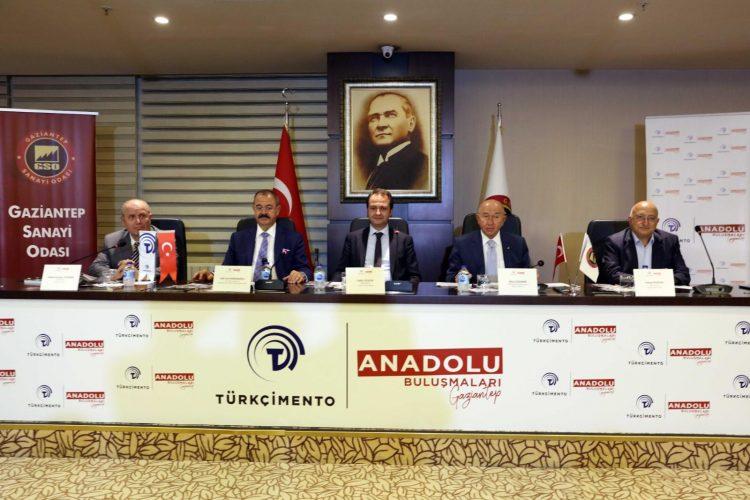 Türk Çimento Anadolu buluşmalarının beşincisi Gaziantep'te yaptı
