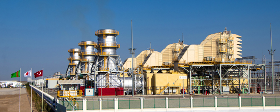 Rönesans, Türkmenistan'da inşa ettiği enerji santralini pandemiye rağmen erken tamamladı